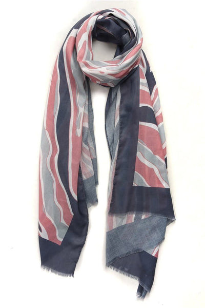 Colourful Abstract Scarf - Aurina Ltd