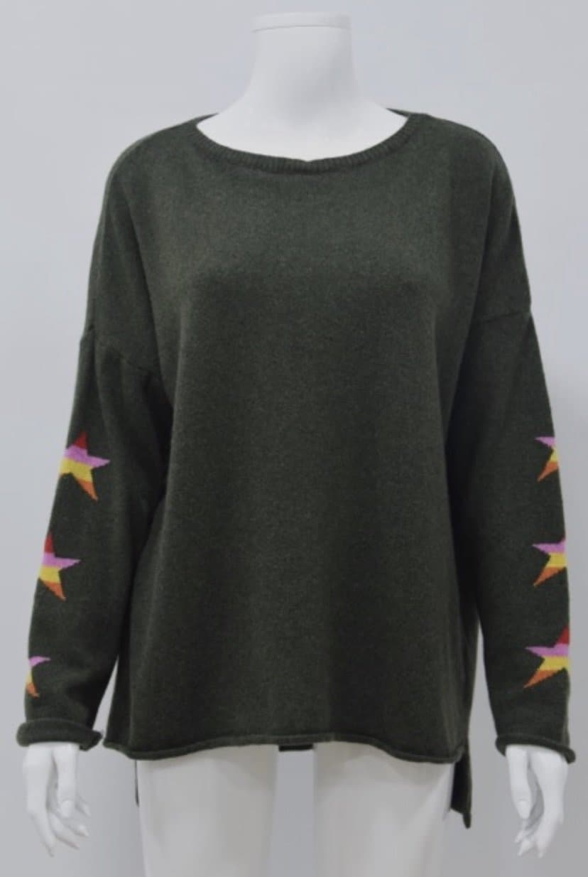 Three Star Cashmere Blend Jumper