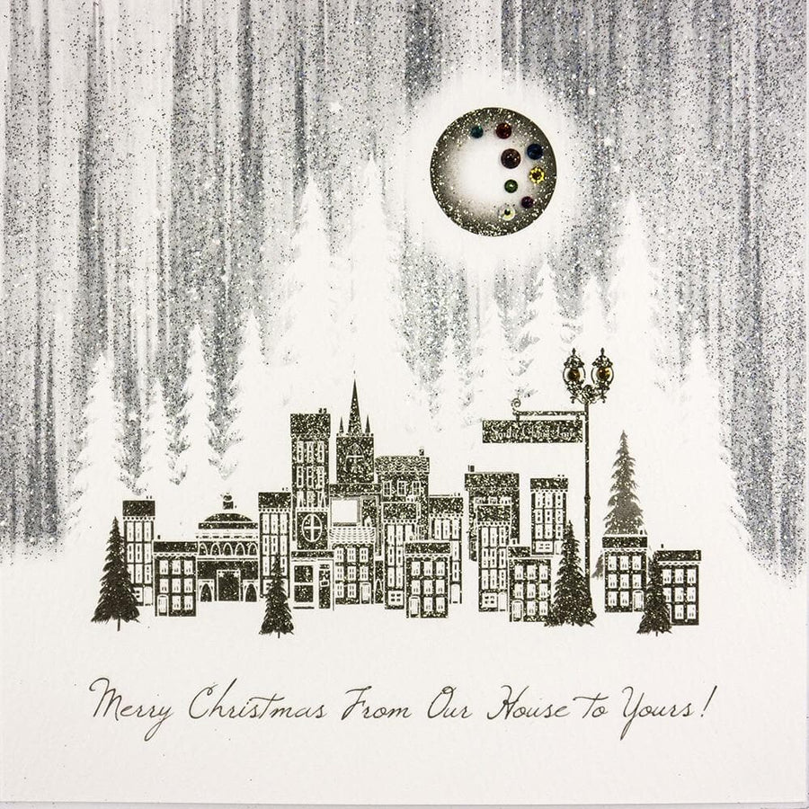 From our House to Yours Christmas Card - Aurina Ltd