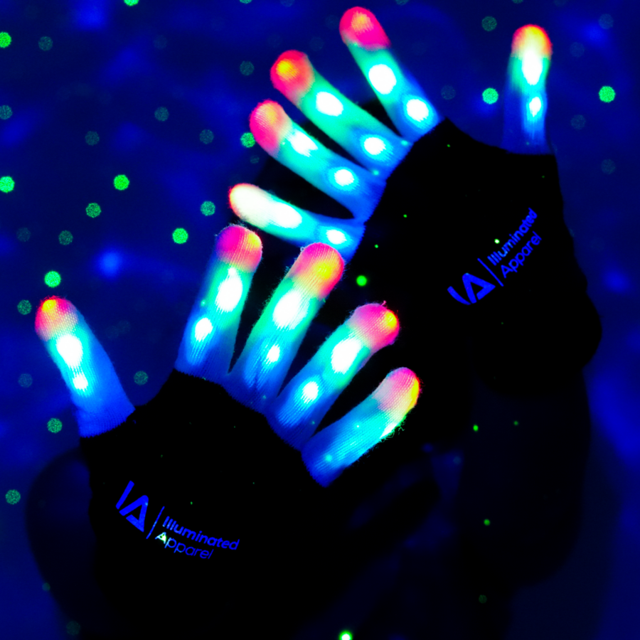 LED Children's Light Up Gloves - Aurina Ltd