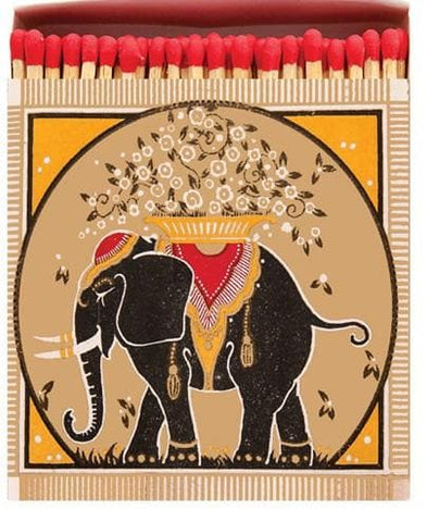 Golden Elephant Square Matches