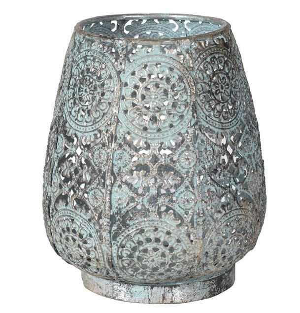 Metal Verdigris Votive -  - aurina-ltd-2