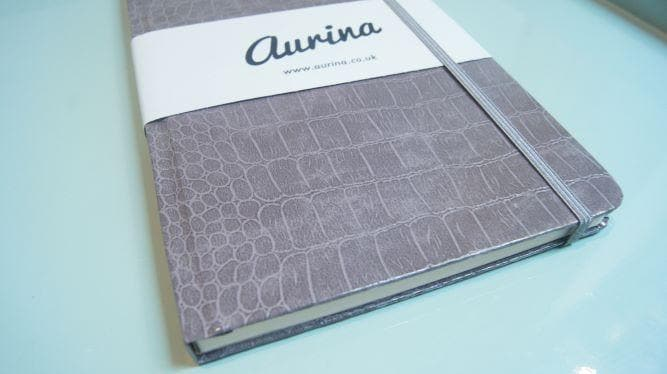 The Mock Croc Embossed Notebook - Aurina Ltd