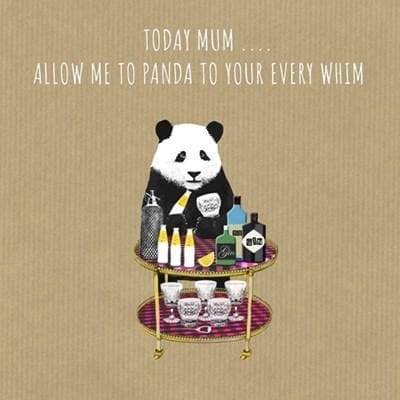 Panda To Your Whim Card