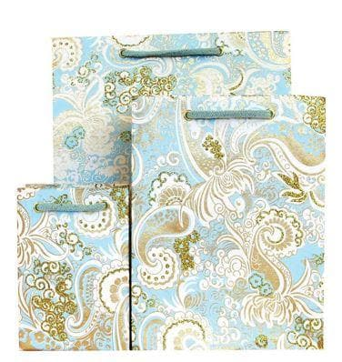Paisley Mint Nehru Gift Bags
