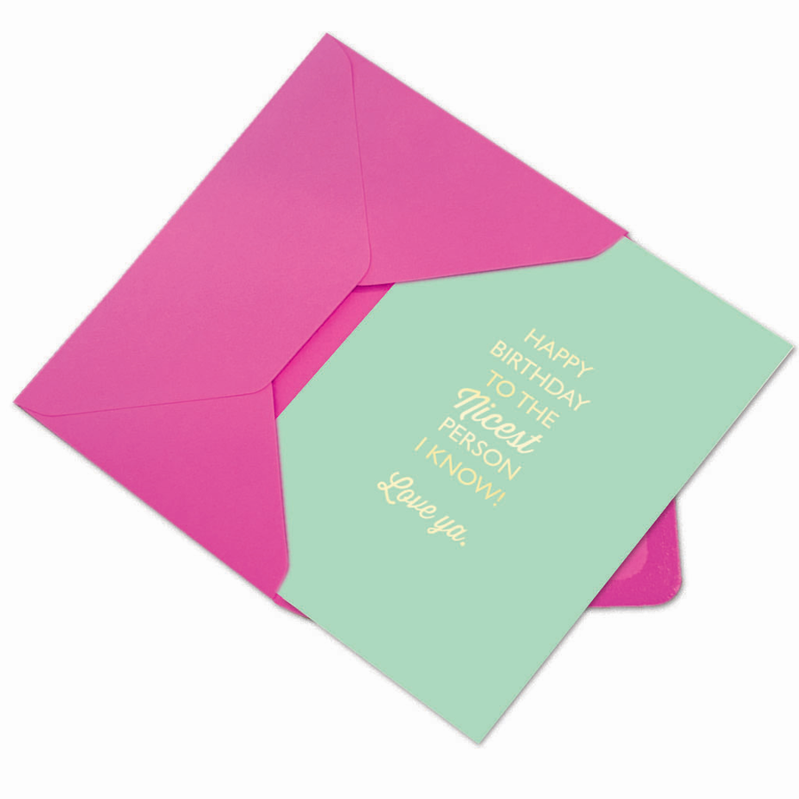 Nicest Person I Know Card - Aurina Ltd