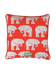 Piped Cushion Nellie Red