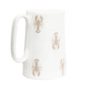 Small Lobster bone china jug
