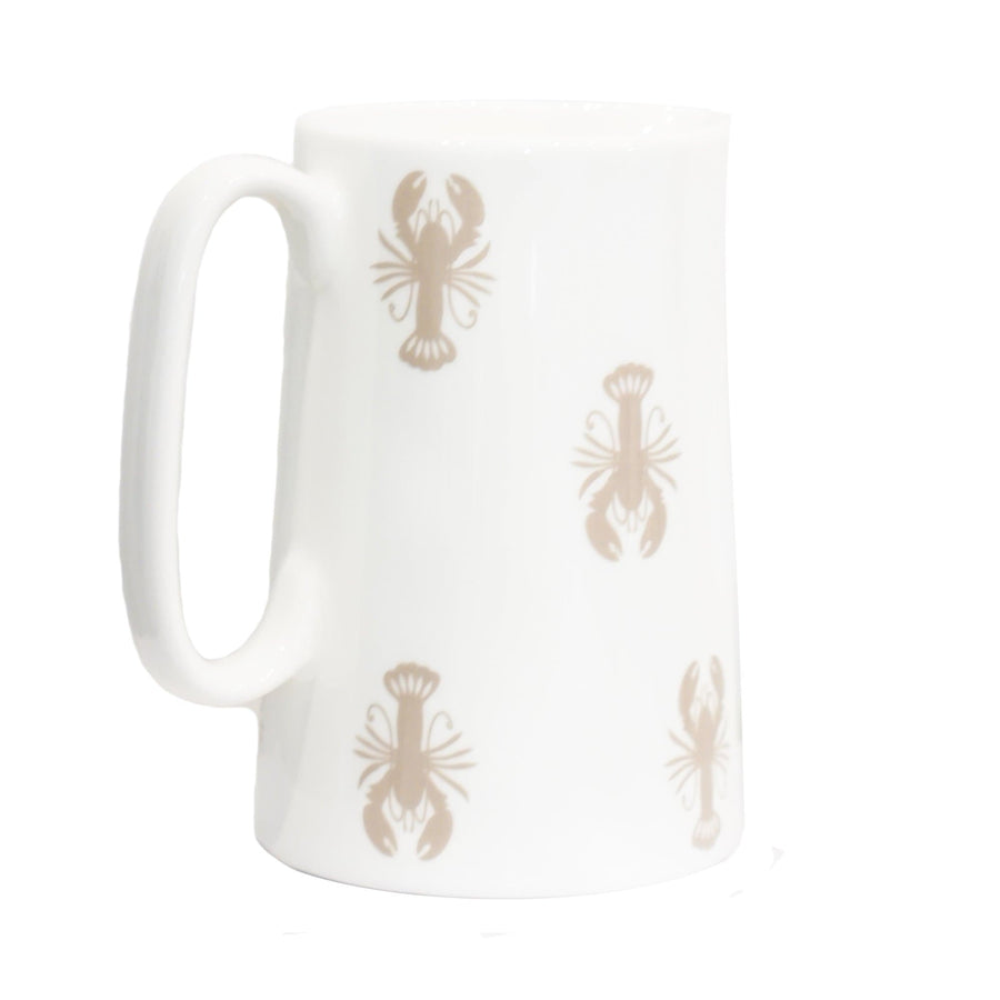 Small Lobster bone china jug - Aurina Ltd