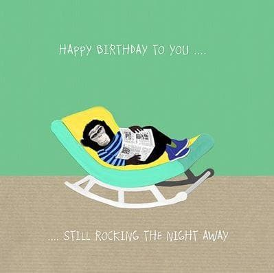 Rocking the Night away card