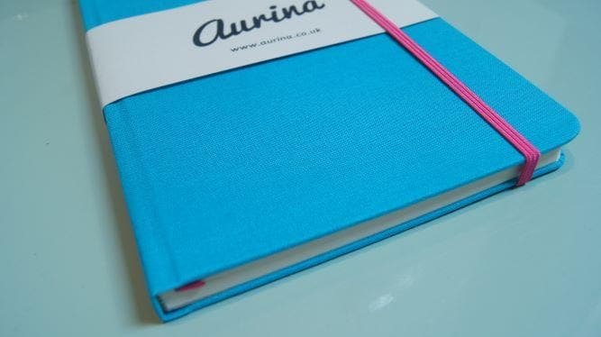 Woven Cloth Notebook