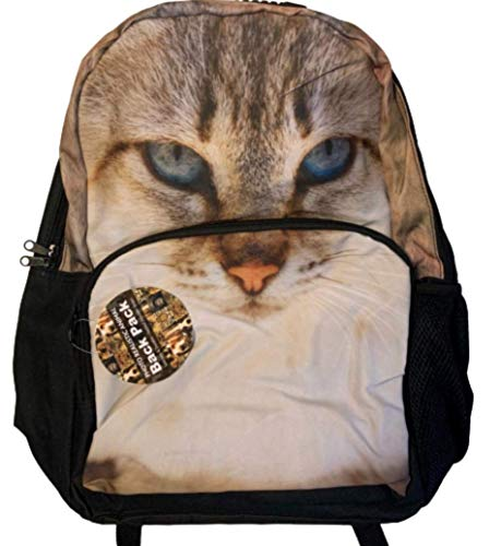 Kids Unisex Realistic Animal Design Backpacks/Rucksacks/School Bags for School, Gym, Animal Lovers