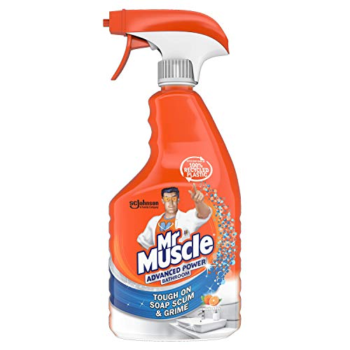 Mr Muscle Advanced Power Bathroom & Toilet, 750 ml