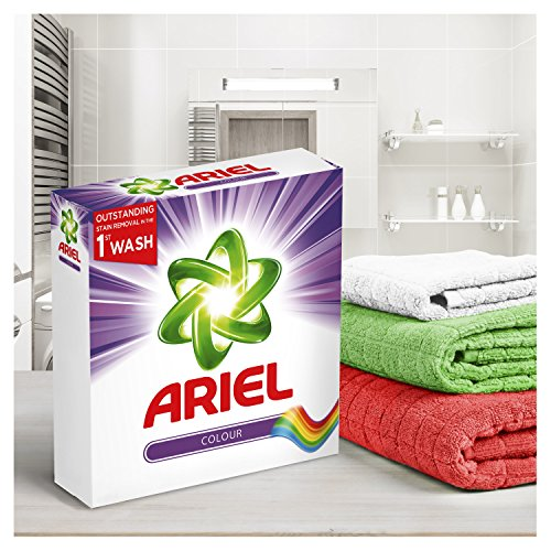 Ariel Washing Powder Colour and Style, Gives You Outstanding Stain Removal in The First Wash, 1.4 kg, 22 Washes