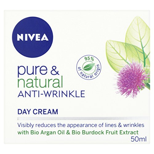 Nivea Pure and Natural Anti-Wrinkle Day Cream 50 ml