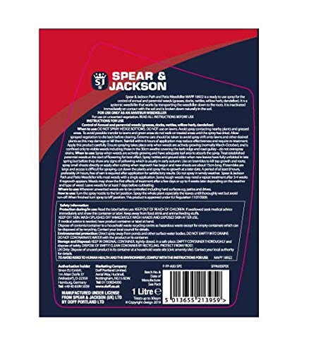 Spear & Jackson Path & Patio Weedkiller, Red