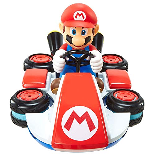 Nintendo Mario Kart 8 Mario Mini Anti-Gravity RC Racer 2.4Ghz, with full function steering create 360 spins, whiles and drift! - Up to 100 ft. Range - For Kids ages 4+