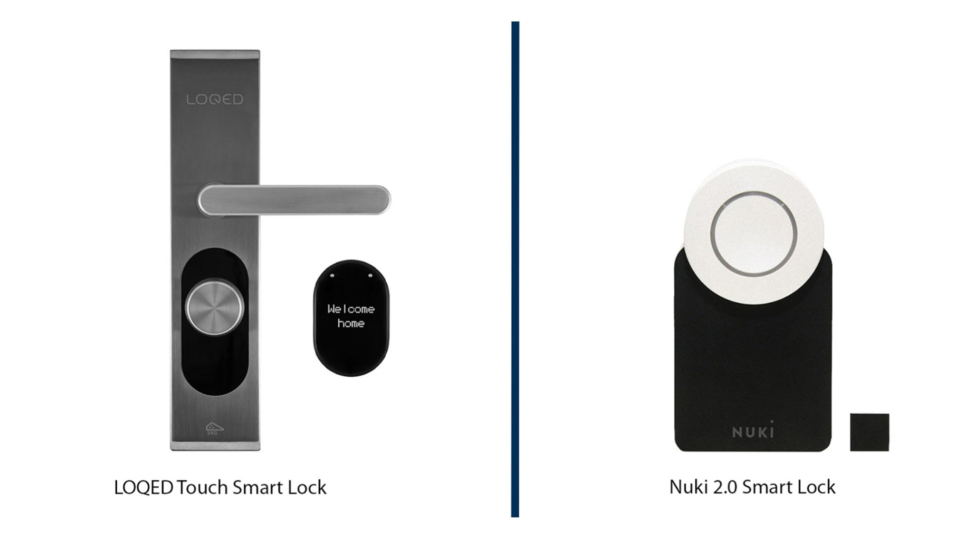LOQED vs Nuki smart lock comparison