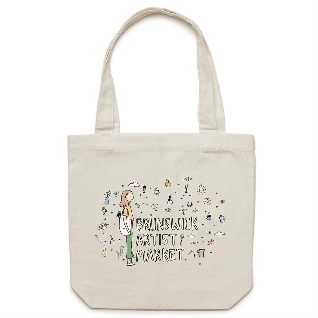 Brunswick Artist Market - Canvas Tote Bag
