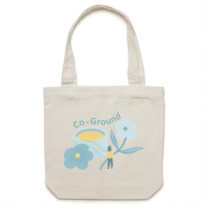 Co-Ground - Canvas Tote