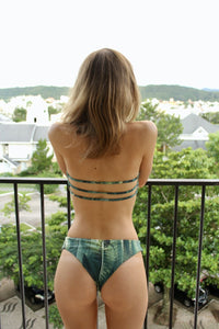 Palm Green Luna Top with straps