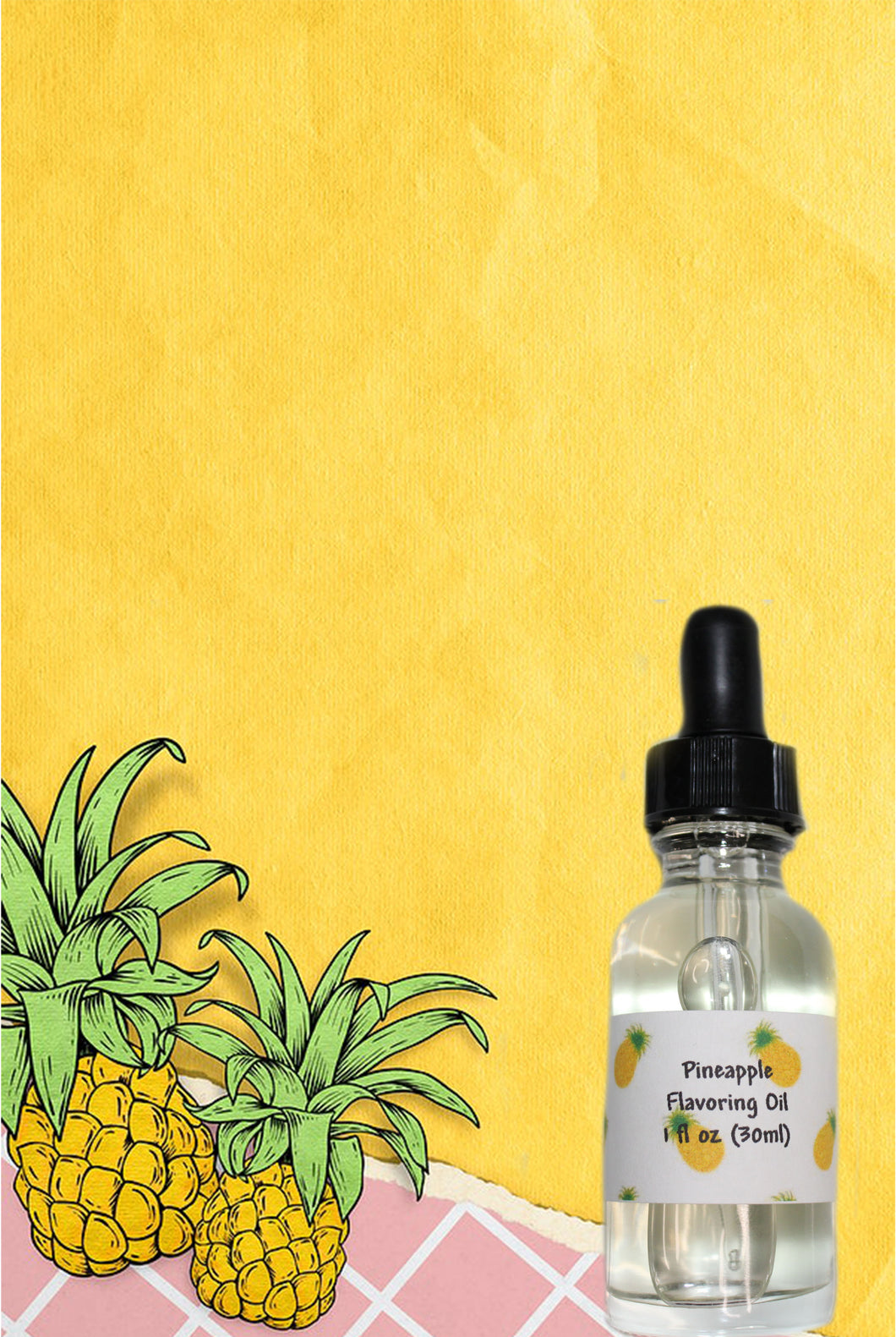 Pineapple Super Strength Flavoring Oil