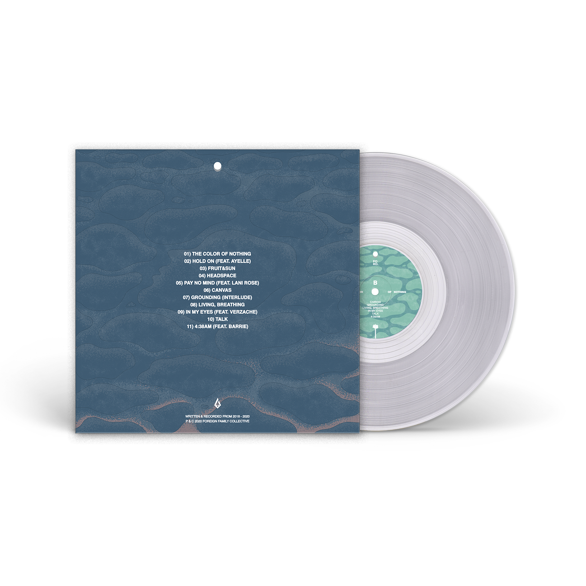 ford. - The Color of Nothing LP + Digital MP3 Download