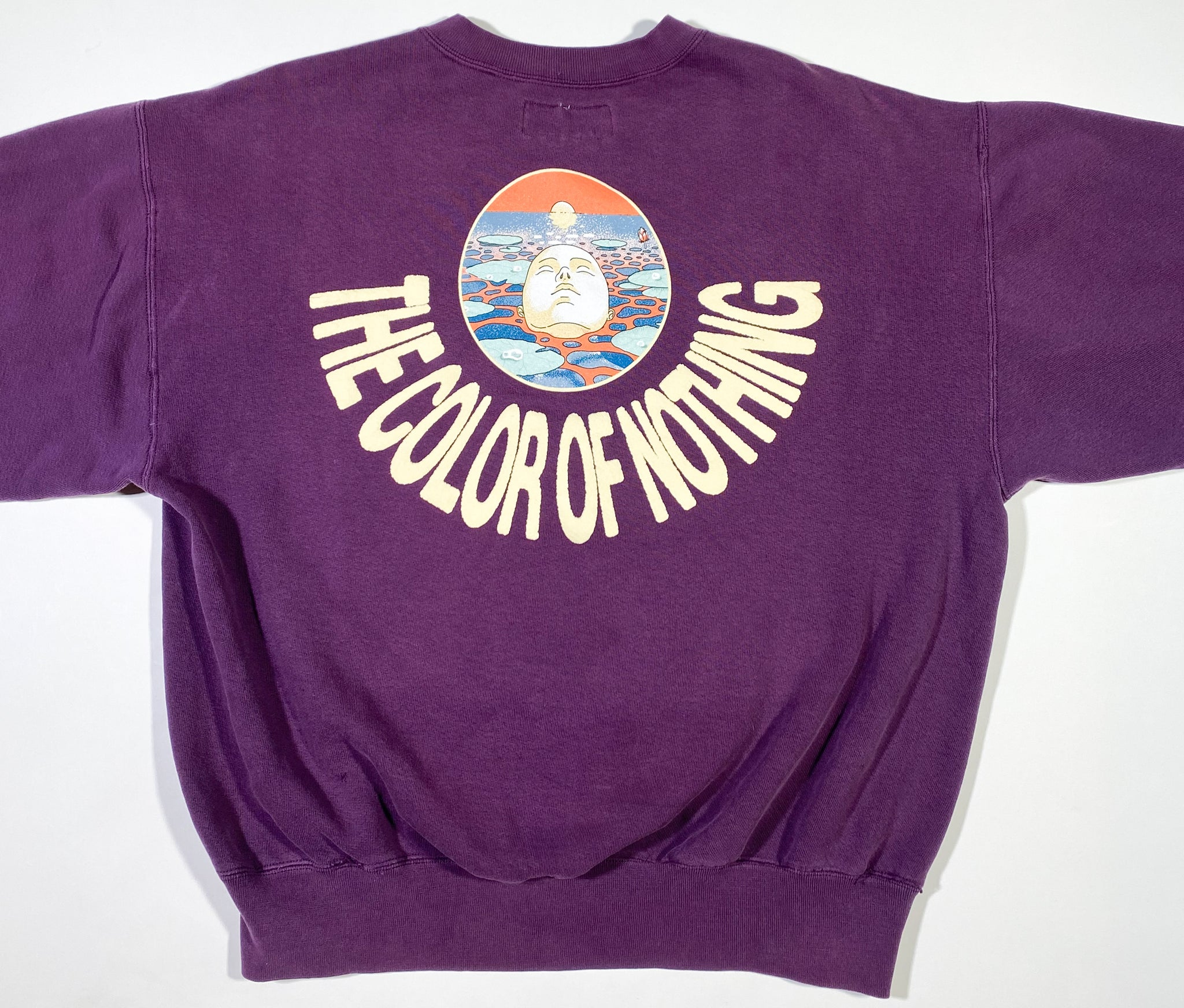 Vintage TCON Washed Purple Russell Heavy Sweater - Fits L