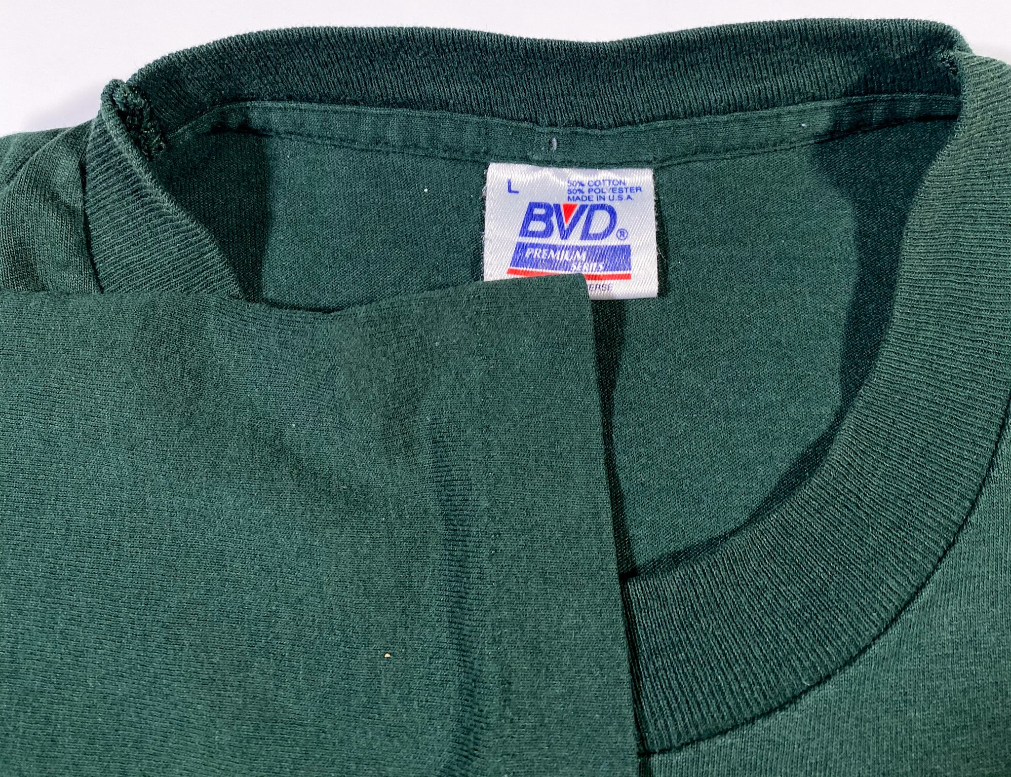 Vintage TCON Green BVD Pocket Tee - Fits L