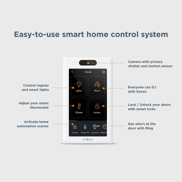All-in-One Smart Home Control Switch (Factory Refurbished w/full warranty)