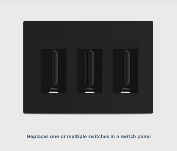 Smart WiFi Dimmer Switch (Black)