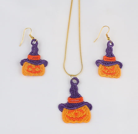 Pumpkin Jewelry Set