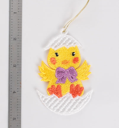 Easter Chick Ornament