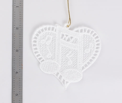 Musical Heart Ornament