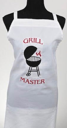 Grill Master Embroidered Apron