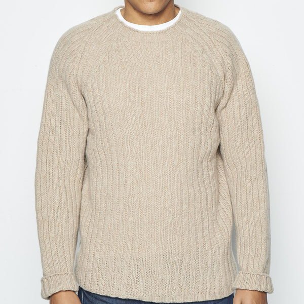 O'Dell's, new wool jumper Zizu (Fawn) - SALE