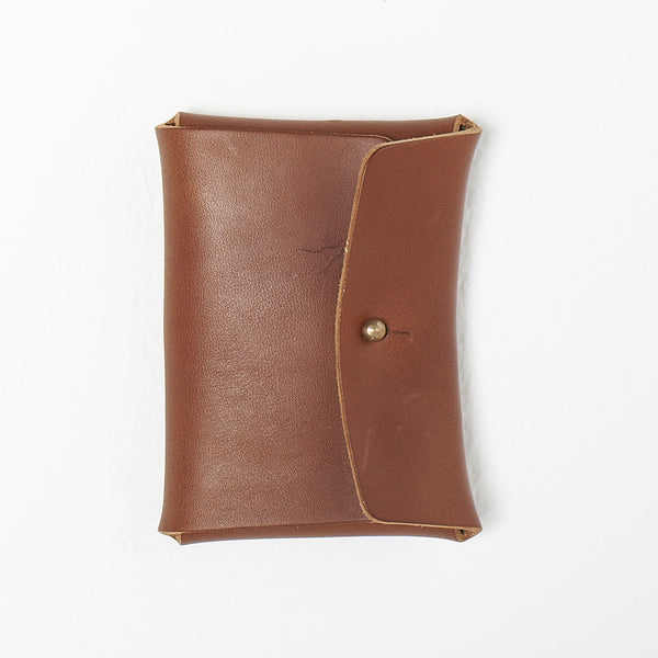 Leather card/ coin wallet