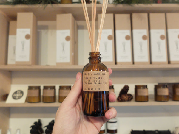 Reed diffuser by PF Candle Co : Amber and Moss (Best seller)