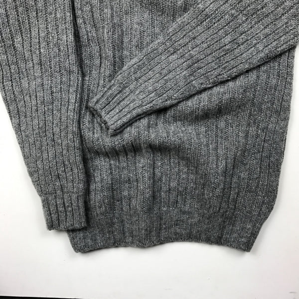 O'Dell's Pure New Wool Jumper in Zizou (Grey) SALE