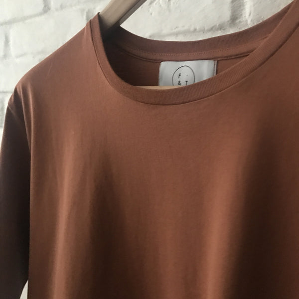 Form & Thread burnt orange t-shirt