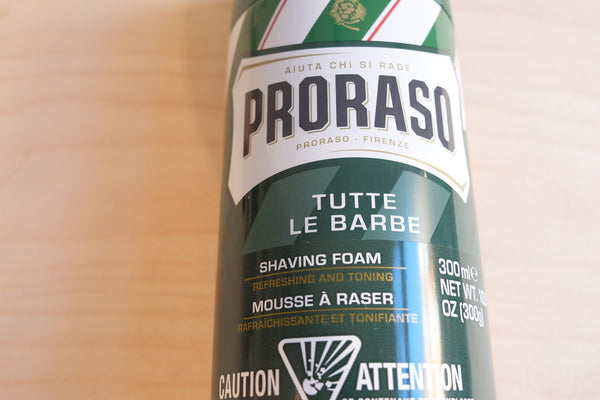 Proraso Shaving Foam - Eucalyptus & Menthol (Large) 300ml