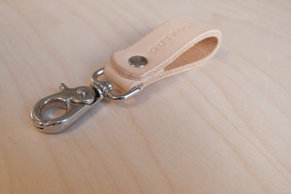 Small Leather Key Ring