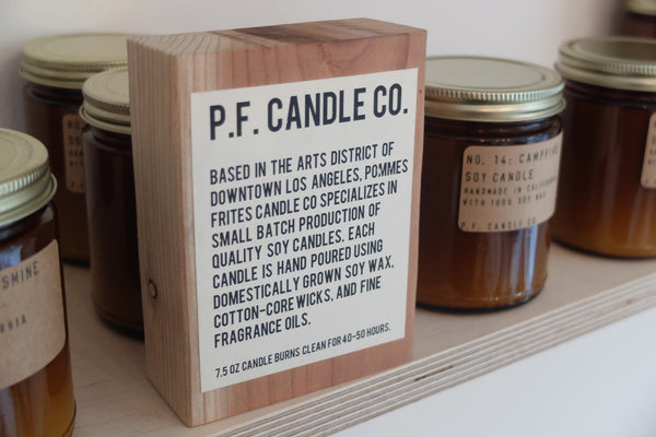 PF Candle Co- Teakwood & Tobacco (Best seller)