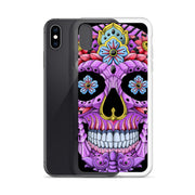 Purple Calavera - iPhone Case
