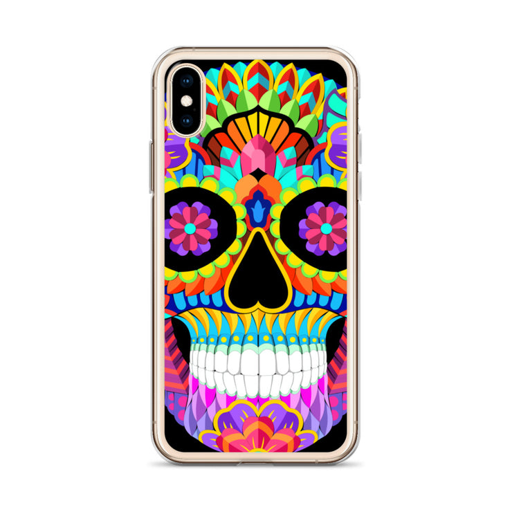 Psychedelic Calavera - iPhone Case