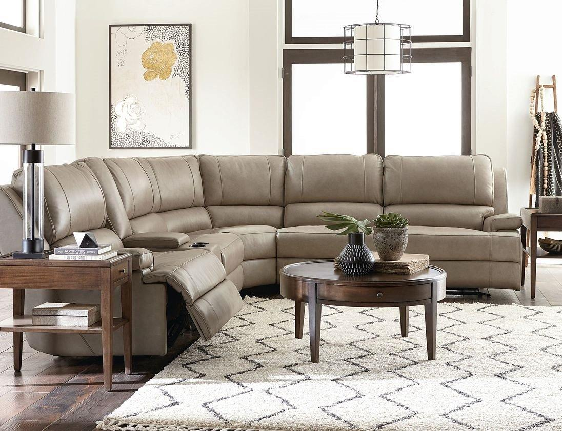 Parker Leather Sectional - The Tin Roof Furniture