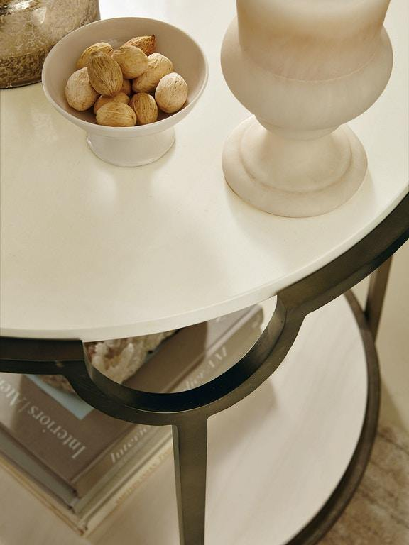 Morello Oval End Table - The Tin Roof Furniture