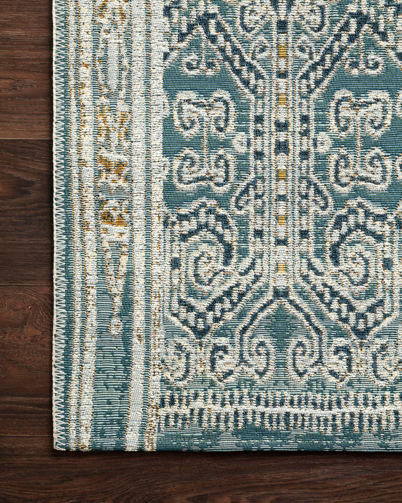 Mika Ocean Indoor Outdoor Rug