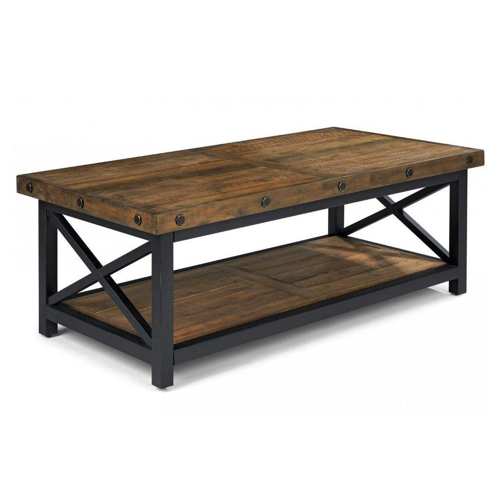 Carpenter Rectangular Cocktail Table - The Tin Roof Furniture