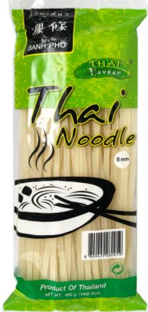 RICE NOODLE SOUP 5MM 400G - THAI FLAVOUR